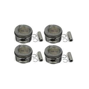 Cast Piston Set, 81mm Bore, 10:1 CR, 1.8L 8V