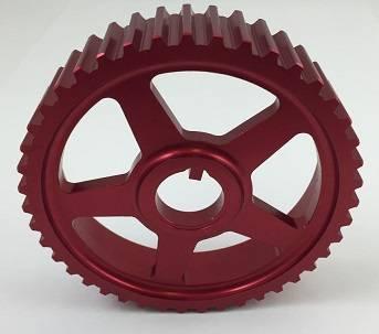 Autotech - AUTOTECH Lightweight Intermediate Shaft Pulley - RED - 16V & B5 150hp 1.8T