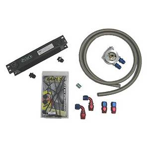 Mocal Setrab 4-cyl THERMO 10 ROW OIL COOLER KIT, BRAIDED HOSE (except Mk5 2.0T engine)