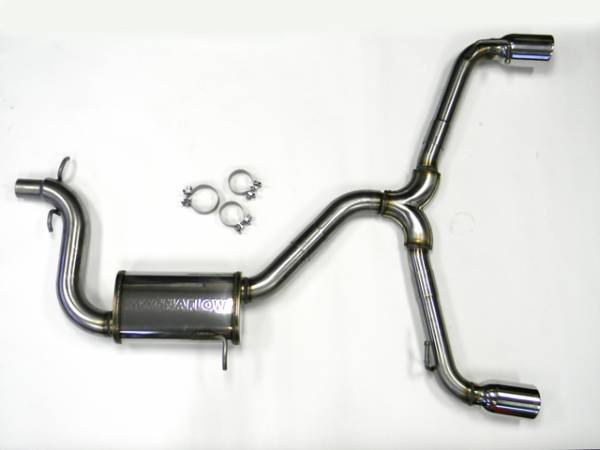 Autotech - Autotech MK6 2.0T GTI Stainless Steel Catback Exhaust System