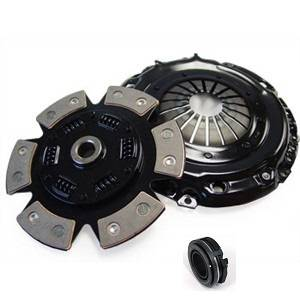 Autotech - Autotech Stage 4 Clutch Kit 228mm 12V VR6 & G60 (6 puck sprung ceramic w/ stage 4 P/P)