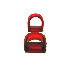 POLY STEERING RACK BUSHING SET, A2/A3 4cyl Manual rack only