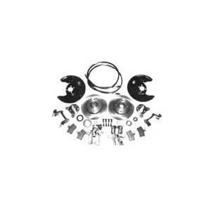 REAR DISC CONVERSION, A3 w/ Reman Calipers & Clubsport Rotors