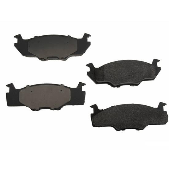 Op Parts Semi Metallic Brake Pads, 239mm VENTED 80-84
