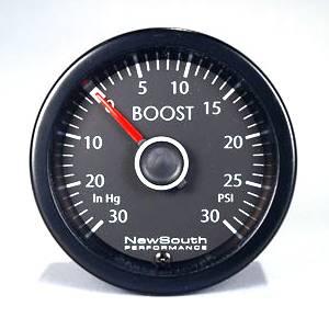 MK6 White 30PSI Boost Gauge (also B6 Passat)