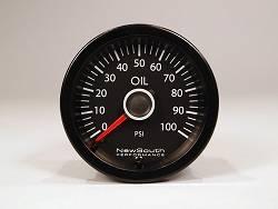 NewSouth MK6 MK7 VW White 100 PSI Oil Pressure Gauge