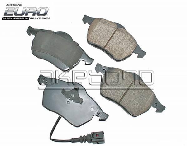 AKEBONO EURO CERAMIC FRONT BRAKE PADS 288mm & 312mm MK5 MK6