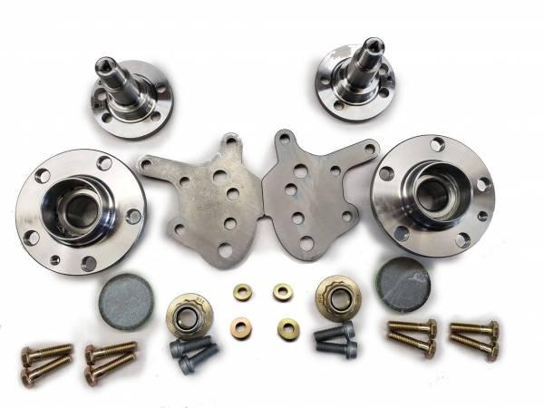 5x100 VW Polo Rear Stub Axle & Wheel bearing Upgrade Kit 256mm Non-ABS for MK3 & Corrado VR6