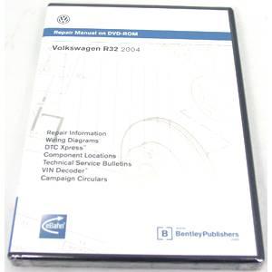 MKV (2006-09) - Engine - SERVICE CD-ROM, JETTA 5 2005-2006