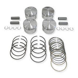 Engine - JE Pistons - JE Forged Piston Set, 82.5mm Bore, 8:1 CR, 1.8L G60 (PG)
