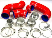 Engine - Samco Coolant Hoses - SAMCO FSI 2.0T Intercooler Hose Kit, Red (3 month ETA - special order)
