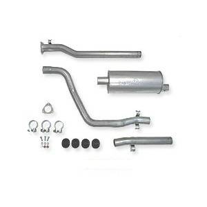 "Engine - Aluminized Exhaust - Autotech - Autotech SportTuned 2"" Exhaust, Scirocco MK2 8V 1/84-87"