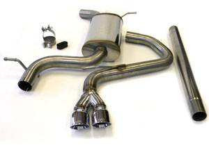 "Autotech - Autotech MK7 Golf 1.8T Stainless Steel 2.5"" Exhaust System"