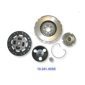 Scirocco - Sachs SPORT 210mm Complete Clutch Kit, 5 spd 8V Disc