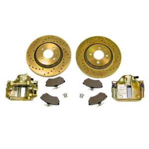 Brakes - Brake Conversion Kit - 280mm FRONT BRAKE CONVERSION, Mk3 4-cyl & 89-92 Mk2 Jetta GLI