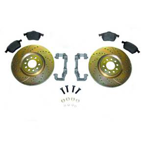 312mm Front Brake Conversion MK3 VR6 1996-99 w/ OEM Rotors