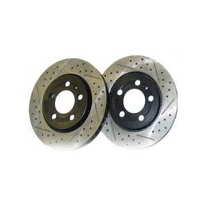 Brakes - Clubsport - MK5 Rabbit/Jetta Clubsport Rear Rotor Kit 260mm