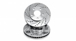 Autotech - Autotech ClubSport Rear Rotor Kit MK6 MK7 GTI 272mm Geomet Coat - Image 2