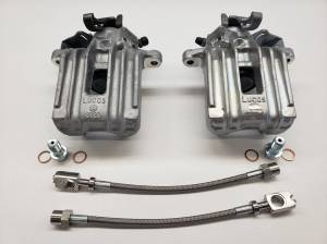 Brakes - Brake Conversion Kit - MK4 Rear Caliper Conversion Kit for MK2 MK3 Corrado