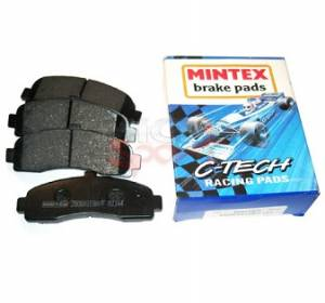 """Brakes - Brake Pads - MINTEX C-TECH PADS, M1144 MATERIAL FRONT Mk4 280mm 2.0L TDI """"Fast-Road"""""""
