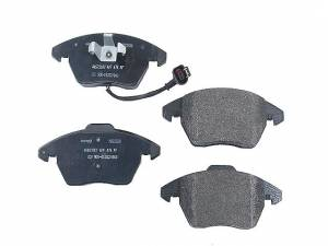 MINTEX PADS, FRONT Mk5 2.0T/2.5L w/ wearsensor & Mk6 GTI 2.0T