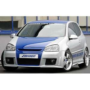 SALE - Exterior - Zender GTZ5 Front Bumper (for MK5 GTI models w/ Fogs & Headlamp Washers)