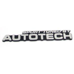 Golf/GTI/Rabbit - MKII (1985-92) - Autotech - sporttuned by AUTOTECH BADGE EMBLEM (silver)