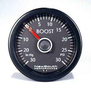 Passat - B6 2.0T (2006 - 2009) - MK6 White 30PSI Boost Gauge (also B6 Passat)