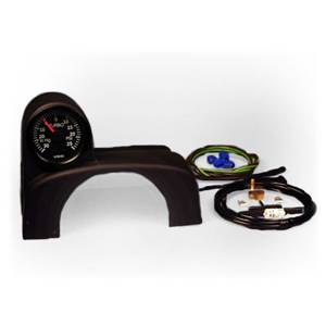 Golf/GTI/Rabbit - MKIV (1999-05) - Mk4 Golf/Jetta TURBOPOD - Offset ColumnPod w/ Indigo boost gauge kit
