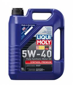 Engine - Tools / Fluid - LiquiMoly 5W40 Synthetic Motor Oil 5 liter