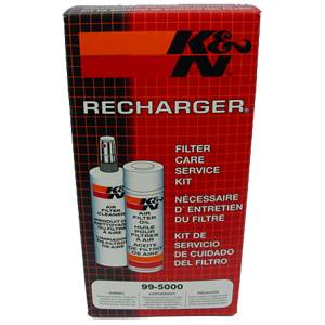 Engine - Cold Air Intakes - RECHARGER CLEANER/OIL KIT