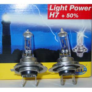 SALE - Lighting - HELLA H7 LightPower +50% BULBS PAIR
