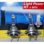 HELLA H7 LightPower +50% BULBS PAIR - Image 2