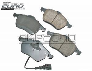 MKVI (2010-14) - Brakes - AKEBONO EURO CERAMIC FRONT BRAKE PADS 288mm & 312mm MK5 MK6