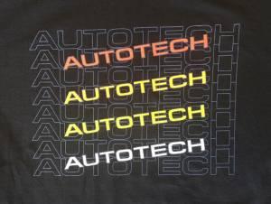 Autotech - AUTOTECH 'RETRO' T-SHIRT BLACK - Image 2